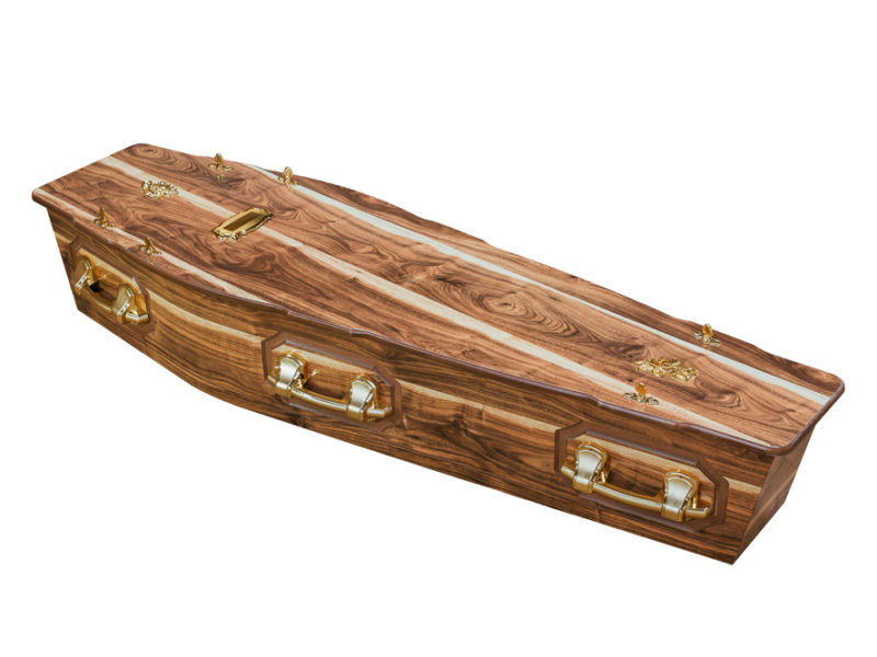 Kiaat Flat + P Coffin