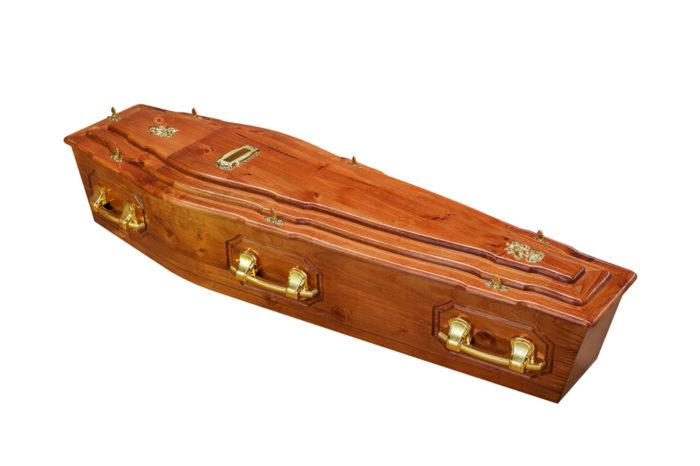 Pine 3Tier + P Coffin