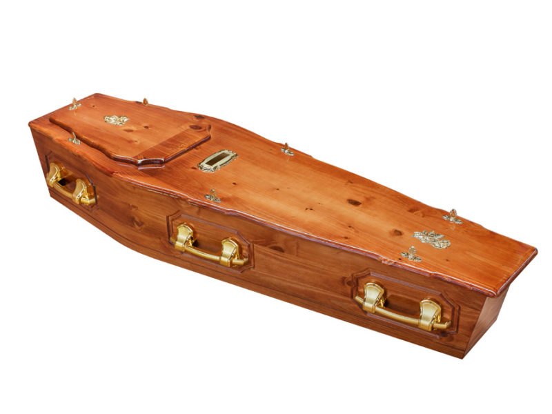 Pine ROF + P Coffin