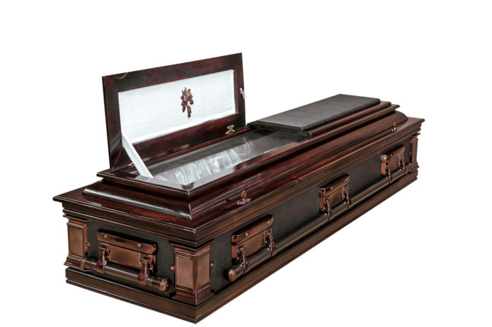 Casket vs Coffin Manufacturers, Standard Coffin Size, Caskets Prices, Prices of Coffins in South Africa, Caskets for Sale. Classic Ostrich Casket Open