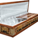 Casket vs Coffin Manufacturers, Standard Coffin Size, Caskets Prices, Prices of Coffins in South Africa, Caskets for Sale. Kiaat Fullview Mini-Dome Open