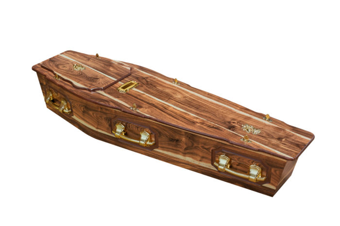 Casket vs Coffin Manufacturers, Standard Coffin Size, Caskets Prices, Prices of Coffins in South Africa, Caskets for Sale. Kiaat ROF + P Coffin