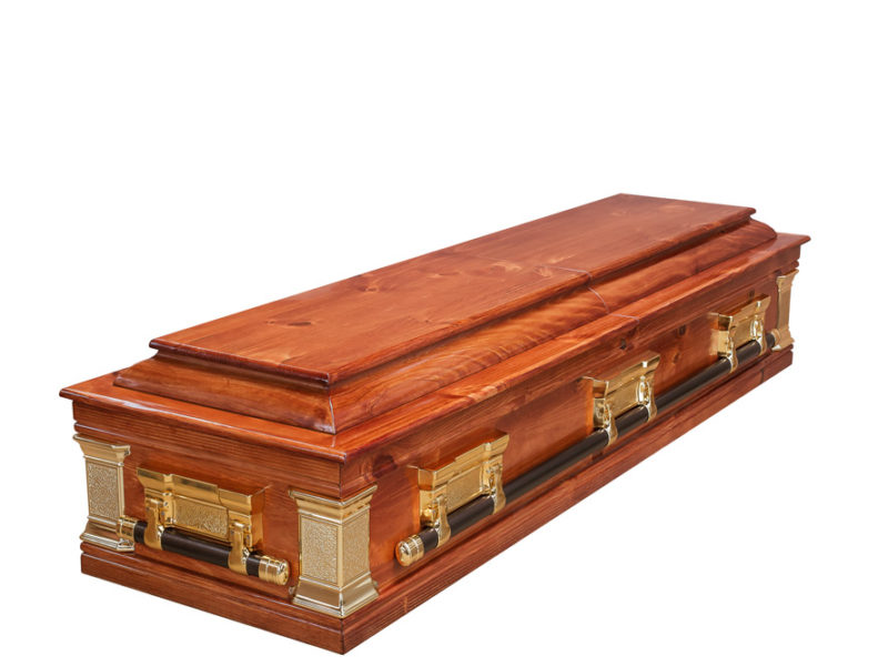 Casket vs Coffin Manufacturers, Standard Coffin Size, Caskets Prices, Prices of Coffins in South Africa, Caskets for Sale. Pine Halfview Casket Windsor Closed