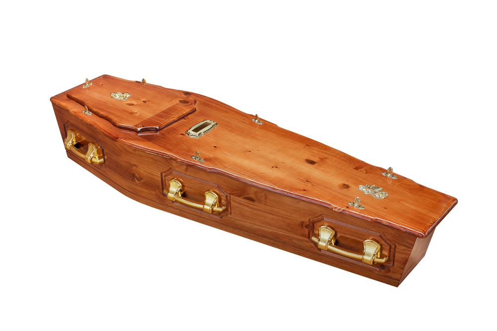Casket vs Coffin Manufacturers, Standard Coffin Size, Caskets Prices, Prices of Coffins in South Africa, Caskets for Sale. Pine ROF + P Coffin