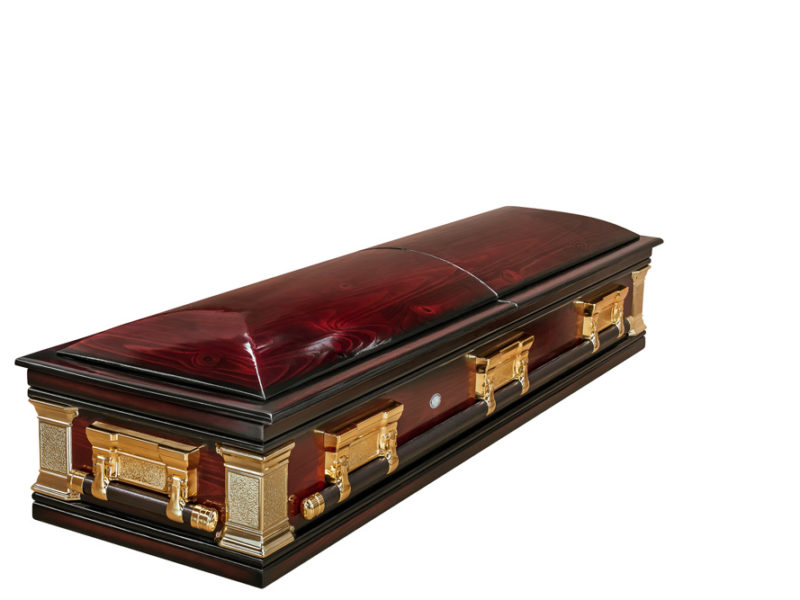 Casket vs Coffin Manufacturers, Standard Coffin Size, Caskets Prices, Prices of Coffins in South Africa, Caskets for Sale. Polished Pine Mini-Dome Closed