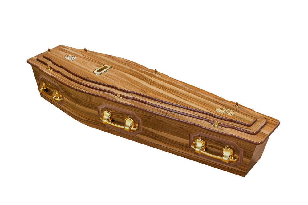 Casket vs Coffin Manufacturers, Standard Coffin Size, Caskets Prices, Prices of Coffins in South Africa, Caskets for Sale. Walnut 3Tier + P Coffin